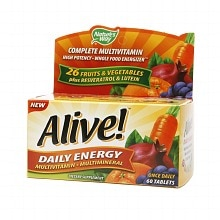 Nature's Way Alive! Daily Energy Multivitamin, Tablets