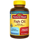 Nature Made Fish Oil, 1200mg, Liquid Softgels