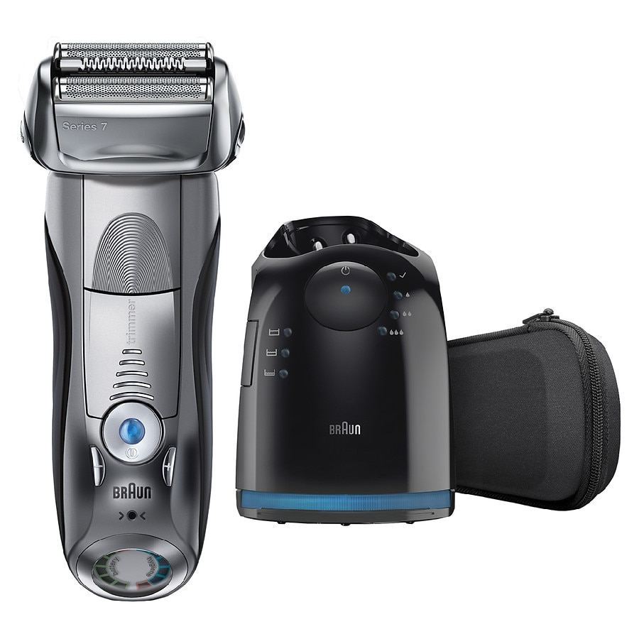 braun series 7 790cc cordless pulsonic shaver system walgreens. Black Bedroom Furniture Sets. Home Design Ideas