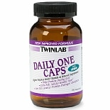 TwinLab Daily One Caps Multivitamin & Mineral Supplement Capsules