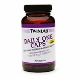 Twinlab Daily One Caps Multivitamin & Mineral Supplement Capsules without Iron