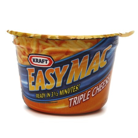 Kraft Easy Mac Single Serve Cups Triple Cheese,10 pk