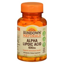 Super Alpha Lipoic Acid, 600mg, Capsules