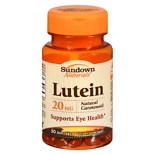 Sundown Naturals Lutein, 20mg, Softgels