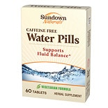 Natural Water Pills, Tablets