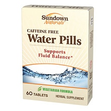 Sundown Naturals Natural Water Pills, Tablets