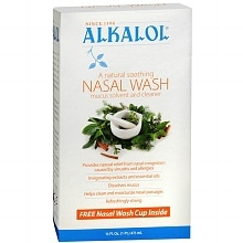 Alkalol Nasal Wash Mucus Solvent and Cleaner