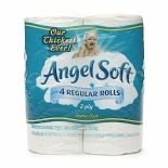Angel Soft BathTissue, Regular RollUnscented