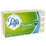 Puffs Plus Lotion Facial Tissues with the Scent of Vicks 1 box (88 count) 1 box (88 count)