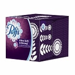 Puffs Ultra Soft & Strong Non Lotion Facial Tissue, 56 count 1 box  (56 count) White
