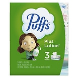 Puffs Plus Lotion Facial Tissues3 boxes (124 count each)