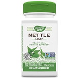 Nature's Way Nettle Leaf 435 mg Dietary Supplement Capsules