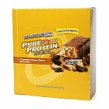 Pure Protein High Protein Bar, 12 Pack Chocolate Peanut Butter