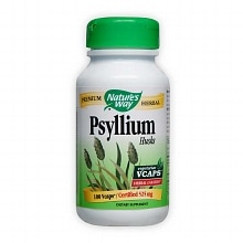 Nature's Way Psyllium Husks Herbal Laxative, VCaps