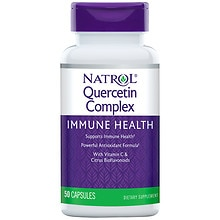 Natrol Quercetin 500 mg Per Serving Dietary Supplement Capsules