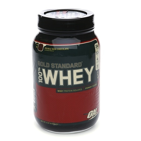 Optimum Nutrition 100% Whey Gold Standard Protein Dietary Supplement Powder Double Rich Chocolate