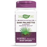 Nature's Way Saw Palmetto Standardized Dietary Supplement Softgels