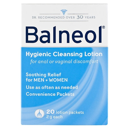 Balneol Hygienic Cleansing Lotion, Convenience Packets