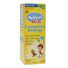 Hyland's Complete Allergy 4 Kids Multi-Symptom Liquid