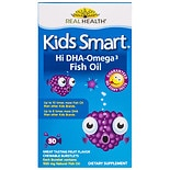 BioGlan Kids Smart Hi DHA-Omega3 Fish Oil 500 mg Dietary Supplement Burstlets Berry Flavor