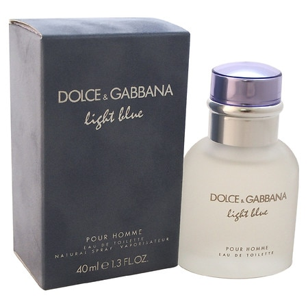 dolce gabbana light blue eau de toilette spray pour homme walgreens