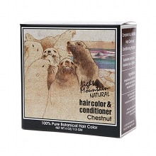 Light Mountain Natural Henna Hair Color and Conditioner, Chestnut Chestnut