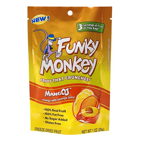 Funky Monkey Freeze-Dried Fruit MangOJ
