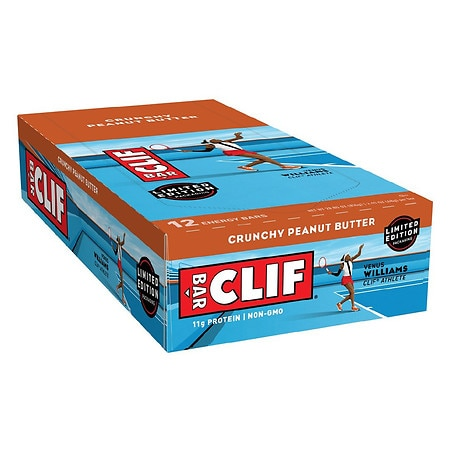 Clif Bar Energy Bars Crunchy Peanut Butter, 12 pk
