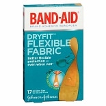 Band-Aid Dryfit Flexible Fabric All One Size Adhesive Bandages