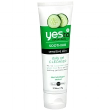 Yes to Cucumbers Soothing Daily Gel Skin Cleanser