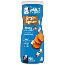 Gerber Graduates Graduates Puffs Snacks Sweet Potato