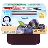 Gerber 1st Foods NatureSelect Baby Food Prunes