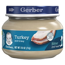 2nd Foods Baby Food Turkey & Turkey Gravy