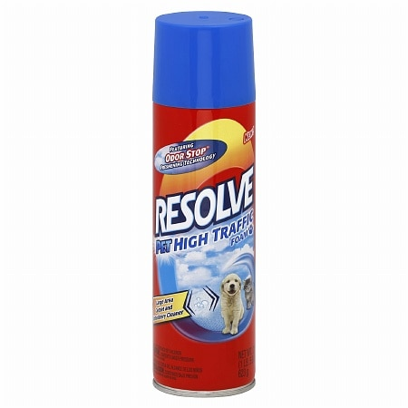 Resolve Pet High Traffic Foam Large Area Carpet Cleaner