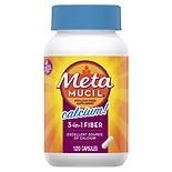 Metamucil Calcium Dietary Fiber Supplement Capsules