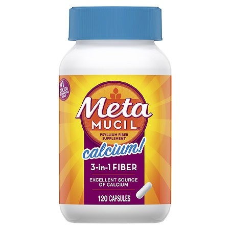 Metamucil Calcium Dietary Fiber Supplement