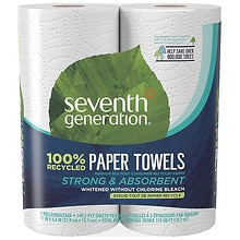 Seventh Generation Recycled Paper Towels, Big Roll 2 rolls