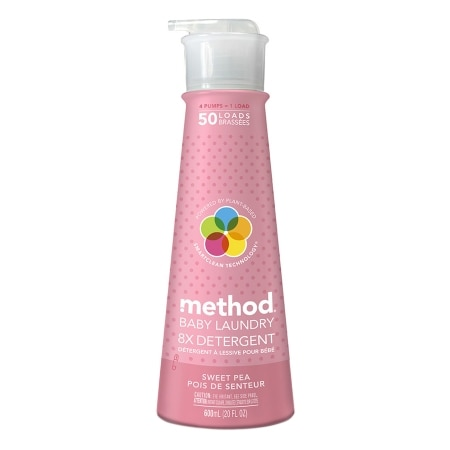 method baby Laundry Detergent, 50 Loads Sweet Pea