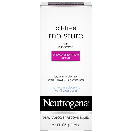 Neutrogena Oil-Free Facial Moisturizer Lotion SPF 35