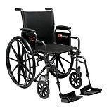 wag-18 x 16in. Detachable Desk Arm Wheelchair, Swingaway Footrest