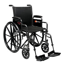 18 x 16in. Detachable Desk Arm Wheelchair, Swingaway Footrest