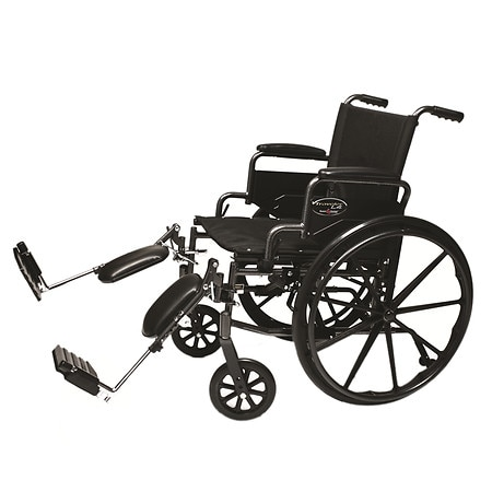 Everest & Jennings 18 x 16in. Detachable Desk Arm Wheelchair, Elevating Legrest