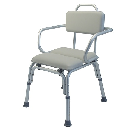 Lumex Padded Bath Seat with Support Arms