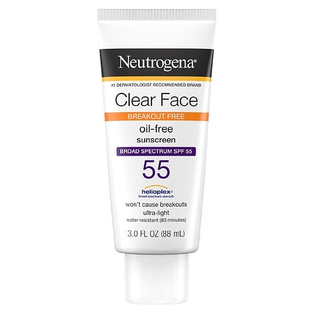 Neutrogena Clear Face Liquid-Lotion Sunscreen