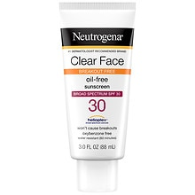 Neutrogena Clear Face Break-Out Free Liquid-Lotion Sunblock SPF 30