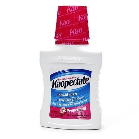 Kaopectate Anti-Diarrheal and Upset Stomach Reliever Peppermint