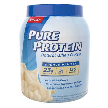 Pure Protein Natural Whey Protein French Vanilla