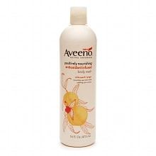 Aveeno Active Naturals Postively Nourishing Antioxidant Infused Body Wash White Peach + Ginger
