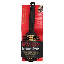 Revlon Perfect Style Ion + Ceramic Brush Medium Porcupine Round
