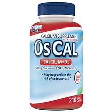 Os Cal 500+D Calcium Supplement Coated Caplets